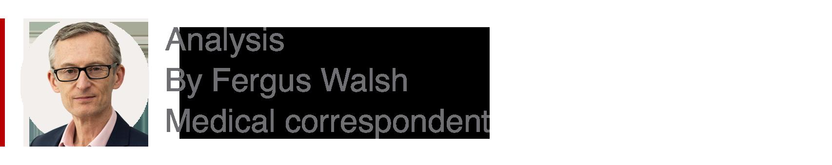 Analysis box by Fergus Walsh, medical correspondent