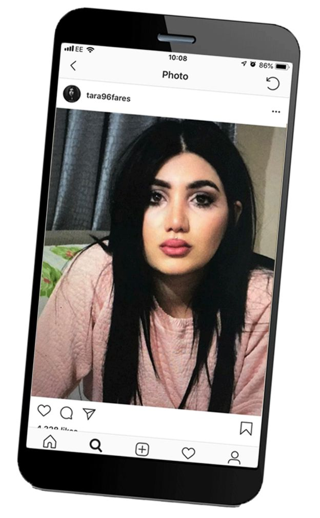 Instagram de Tana Fares