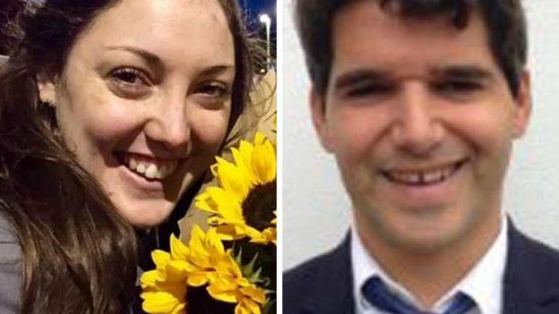 Kirsty Boden and Ignacio Echeverria