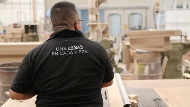 Furniture in mexico Wood Furniture Factory Mexicos New Furniture Revolutionaries Bbc News
