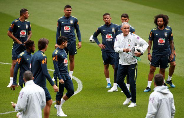 Tite con Brasil