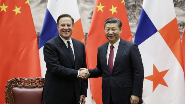 Varela y Xi Jinping.