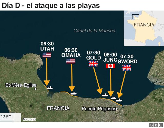 Infografía del ataque