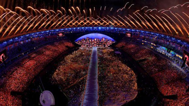 Rio 2016 Olimpiyat Oyunlari Na Gorkemli Acilis Bbc News Turkce
