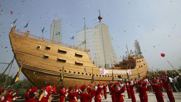 Tàu của Trịnh Hòa