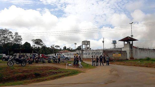 Presídio onde mais de 50 pessoas foram mortas no Pará