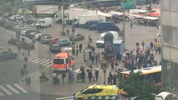 El área de Puutori-Market donde ocurrió el ataque