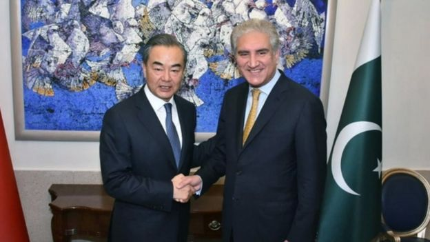 पाकिस्तान और चीन के विदेश मंत्री