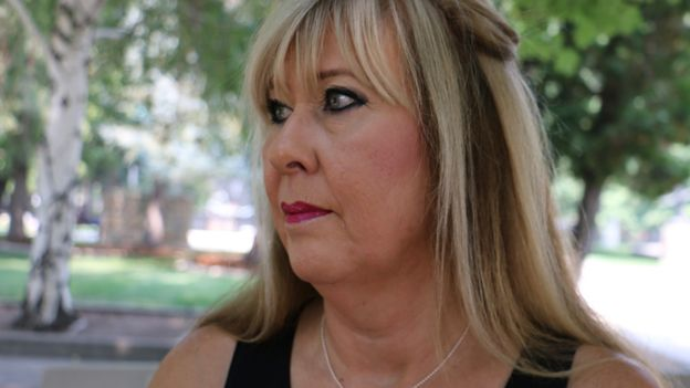 La activista Brenda Simpson.
