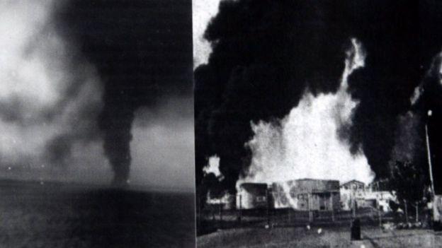 Нефтехранилища Сальвадора были разбомблены