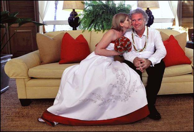 Đám cưới của Jeff Widener và vợ Corinna 8 năm trước