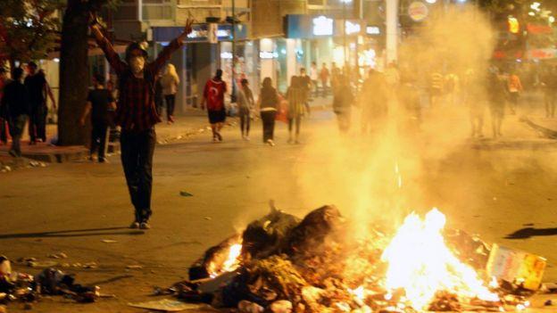 اعتراضات پارک گزی