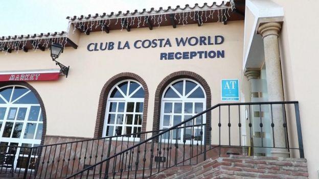 The Club La Costa World reception