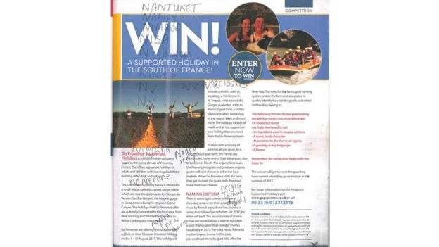The Go Provence competition advert in PosAbility magazine