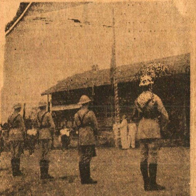Soldados em Tomé-Açu