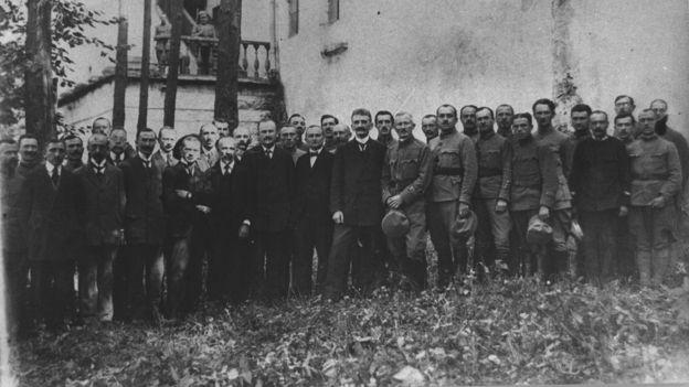 Уряд ЗУНР під час перебування у Кам'янці-Подільському. Осінь 1919 р.