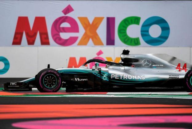 Lewis Hamilton conquistó su quinto título del mundo de F1 en México.