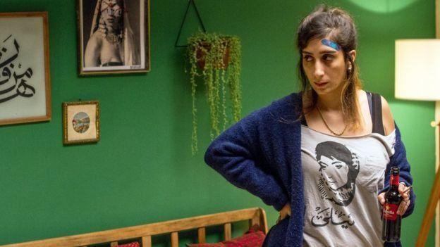 سنا جمالیه (بازیگر نقش سلما) اولین دیجی زن فلسطین است
