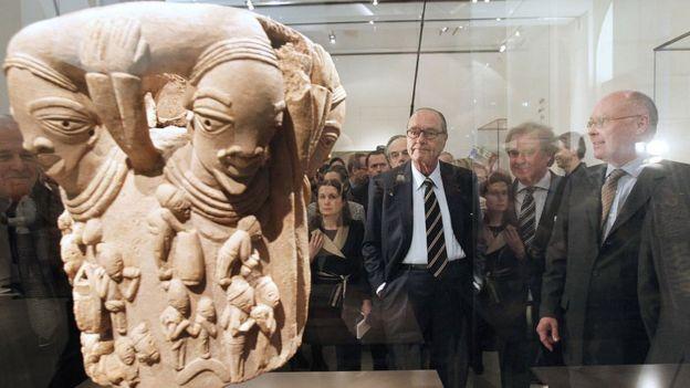 Exposición en el Museo del muelle Branly - Jacques Chirac.