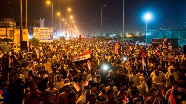 جنبش صدر مخالفت با نفوذ و دخالت ایران در امور عراق را به یکی از مطالبات اصلی خود بدل کرده است
