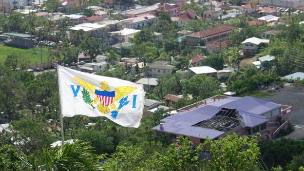 Bandera de Islas Vírgenes de EE.UU.