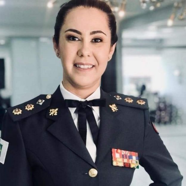 A tenente-coronel do Corpo de Bombeiros do Distrito Federal Márcia Amarílio da Cunha Silva Amarílio, que foi convidada para integrar a equipe do governo Bolsonaro