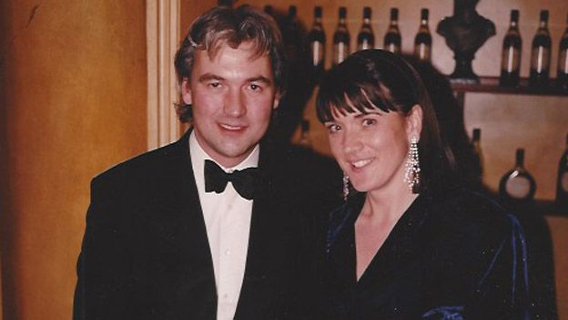 Robin and Judy Hutson in 1997