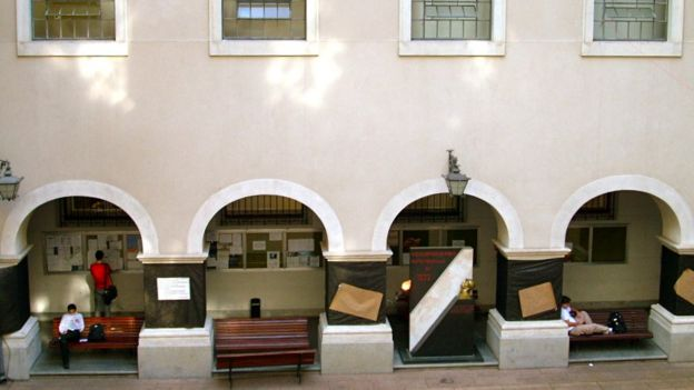 Arcadas da faculdade de direito do Largo São Francisco