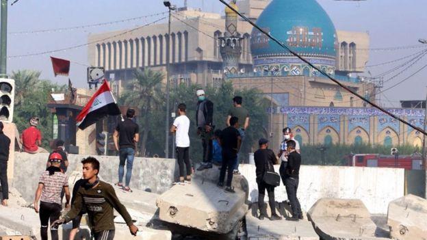 مظاهرات مناهضة للحكومة العراقية