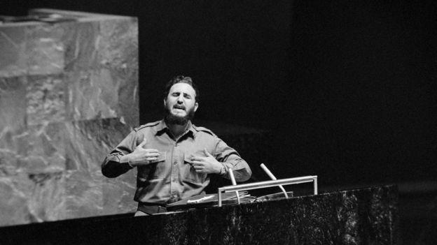 Castro discursa na ONU em 1960