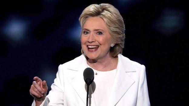 Hillary Clinton, excandidata presidencial en Estados Unidos
