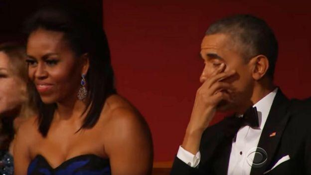 Barack na Michelle Obama