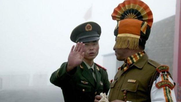 中印邊境對峙