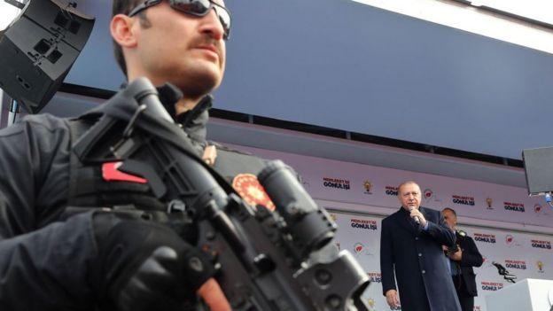 Выступление Эрдогана накануне выборов