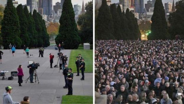 Мемориал памяти в Мельбурне