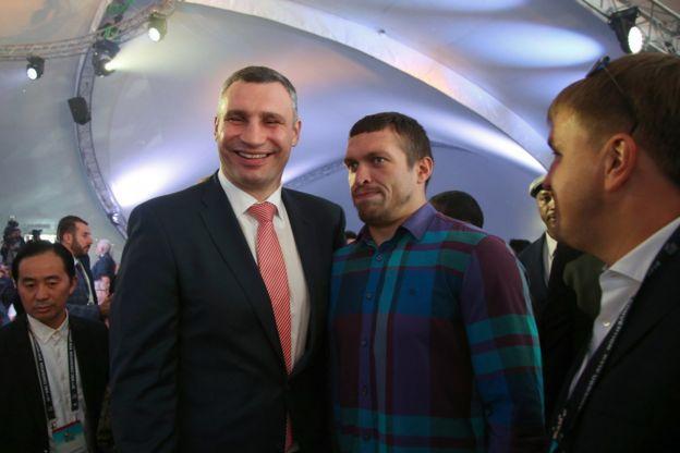 Кличко і Усик