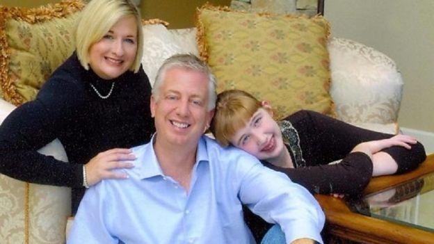 Morgan dan orang tuanya