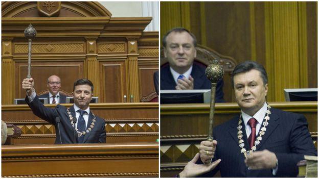 Зеленський - Янукович