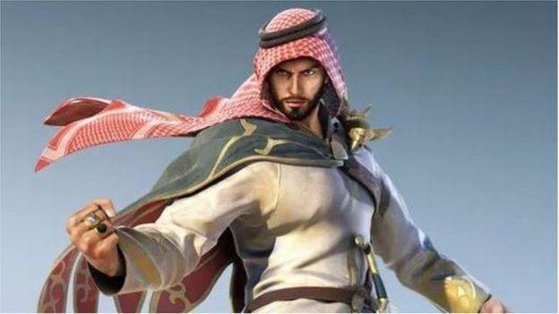 شاهين.. بطل لعبة Tekken 7