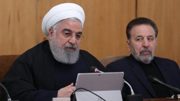 Hassan Rhouani, presidente do Irã