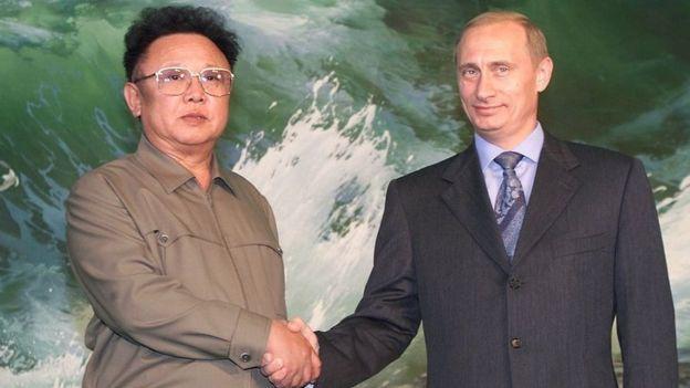 Putin y Kim