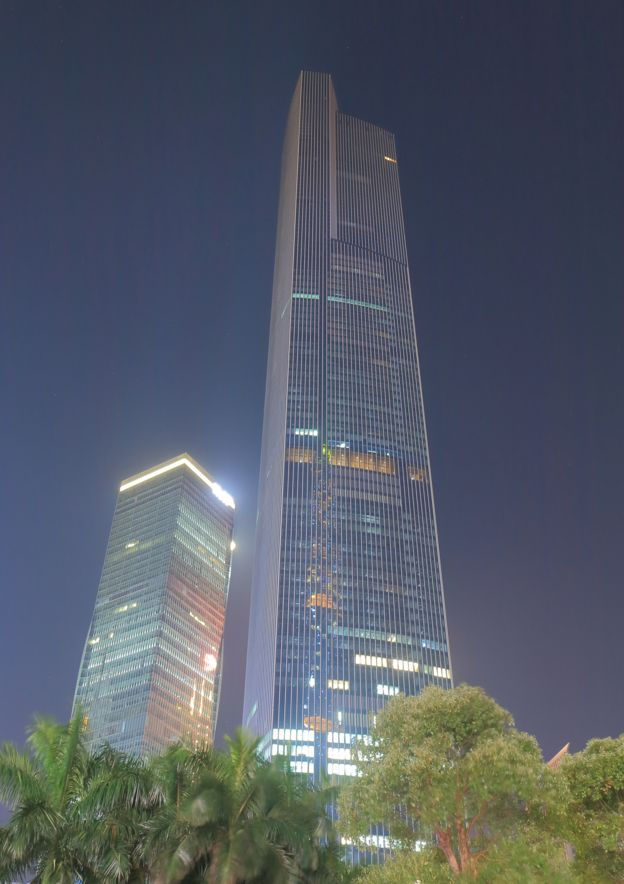 CFT Finance Centre, China