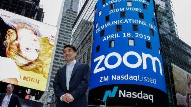 Eric Yuan, fundador de zoom.