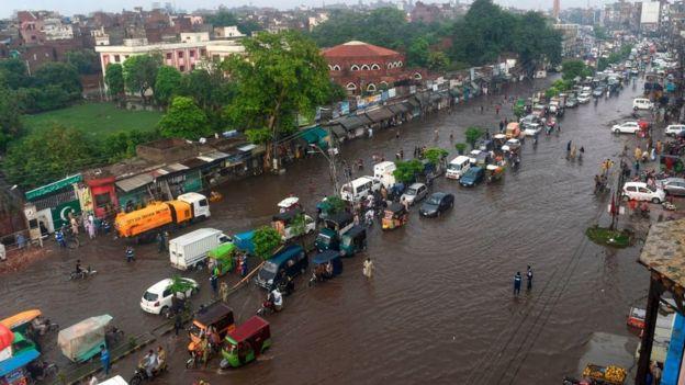 پاکستان سیلاب