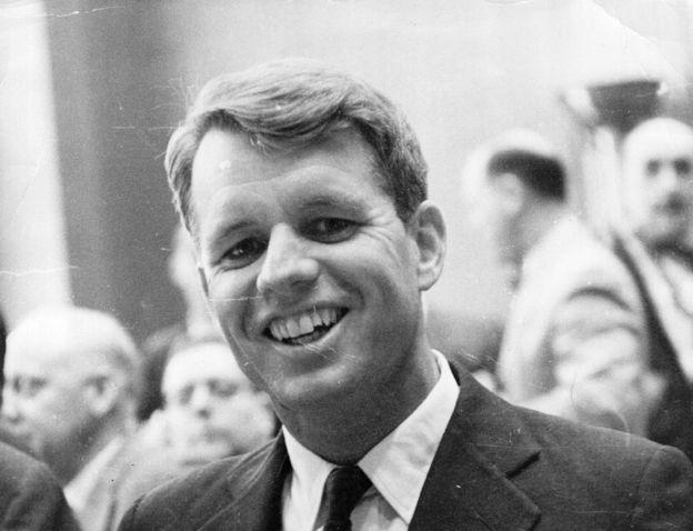 Su abuelo, el senador Robert Kennedy, fue asesinado durante su campaña por la presidencia en 1968.