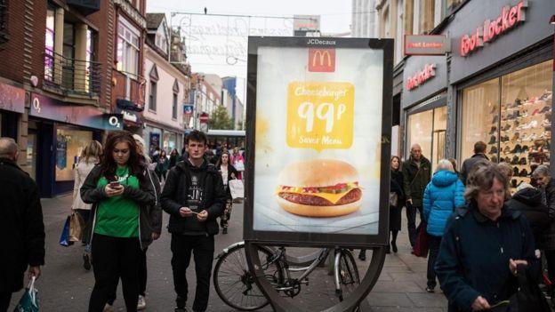 Anuncio de McDonald's.