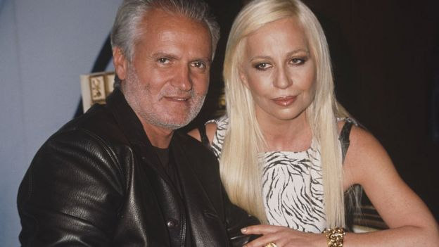 Gianni ve Donatella Versace