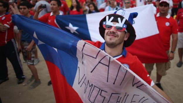 Fan chileno