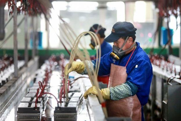 中国安徽某电池厂