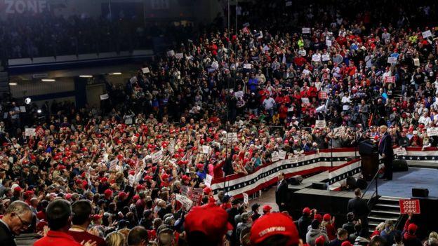 Seguidores de Donald Trump en Iowa